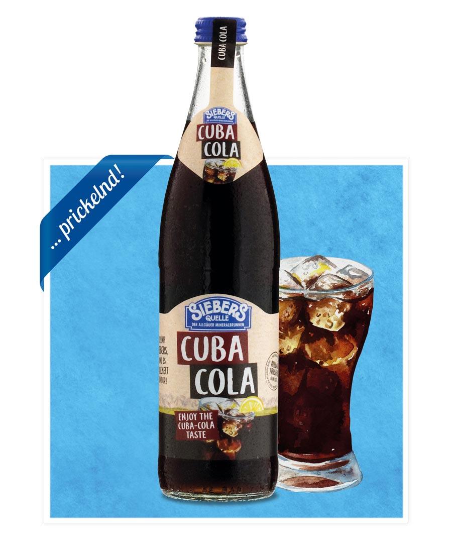 siebers Sortenbilder Flasche 2021 Cola