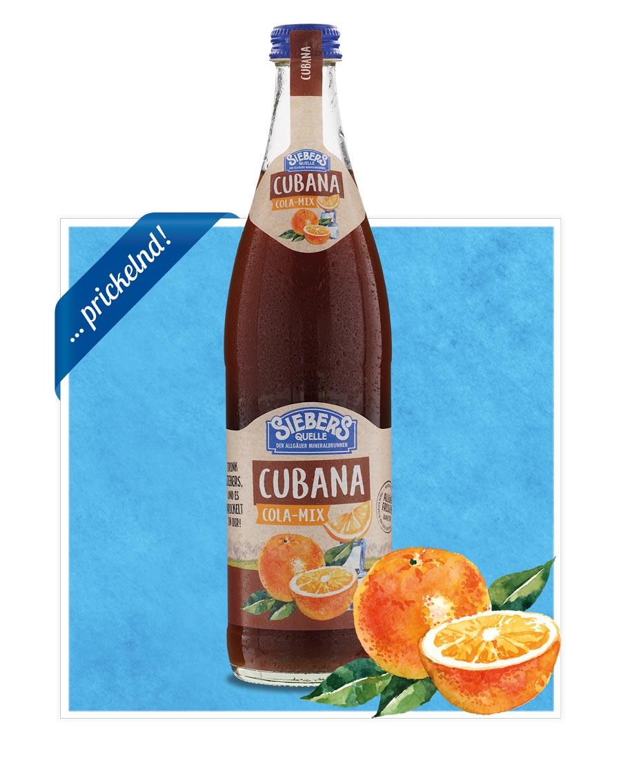 siebers Sortenbilder Flasche 2021 Cubana