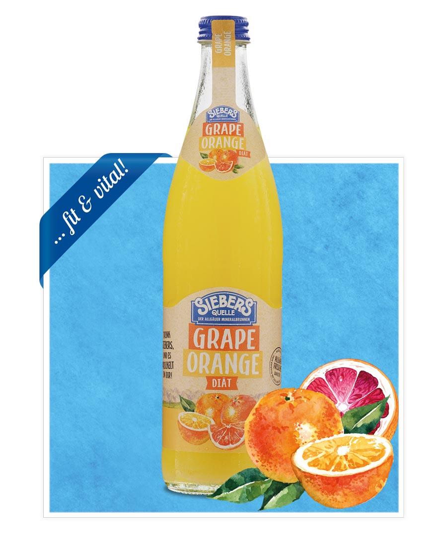 siebers Sortenbilder Flasche 2021 Grape Orange