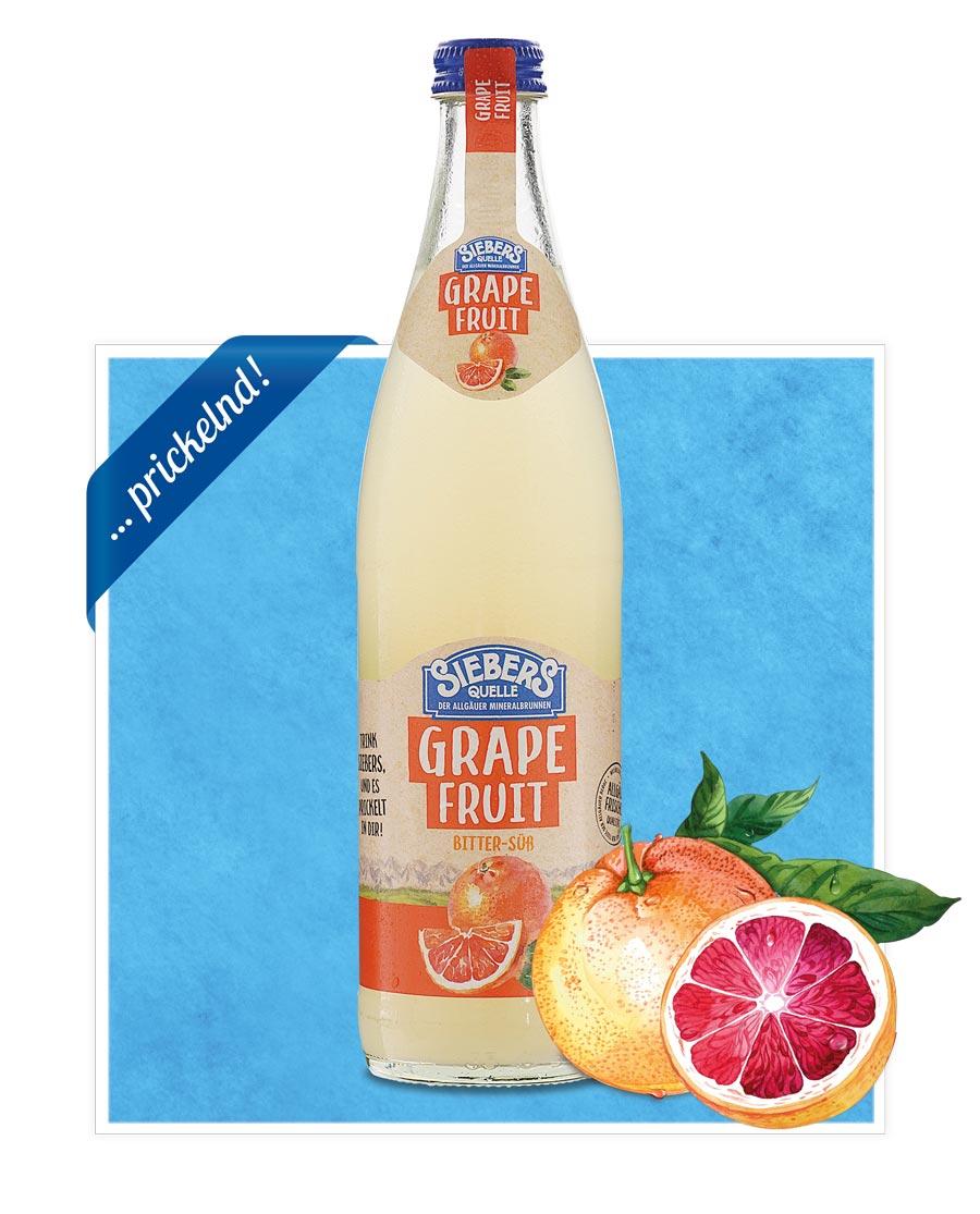 siebers Sortenbilder Flasche 2021 Grapefruit